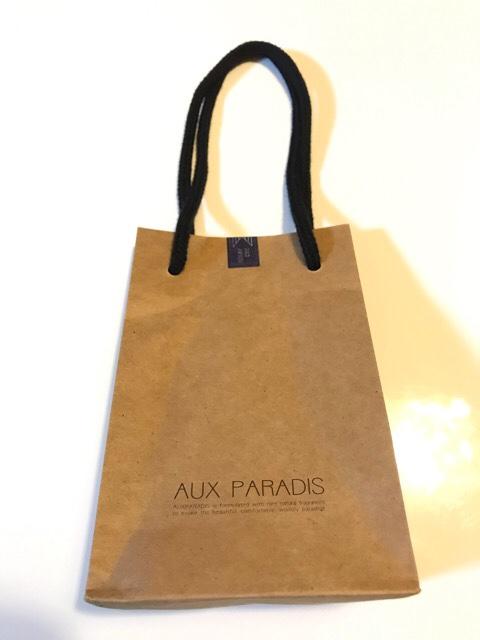 AUX PARADISのショッパー