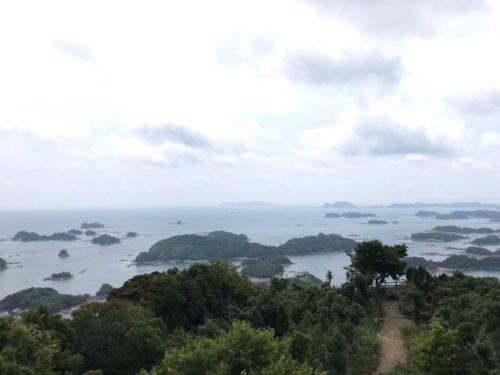 石岳展望台からの景色