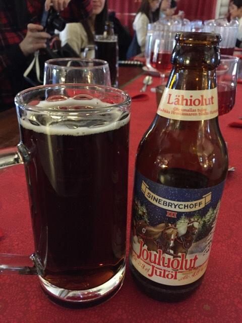 サンタクロース村のビール