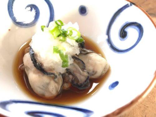 牡蠣の酢物