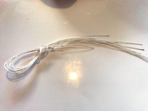 干し柿づくりの紐