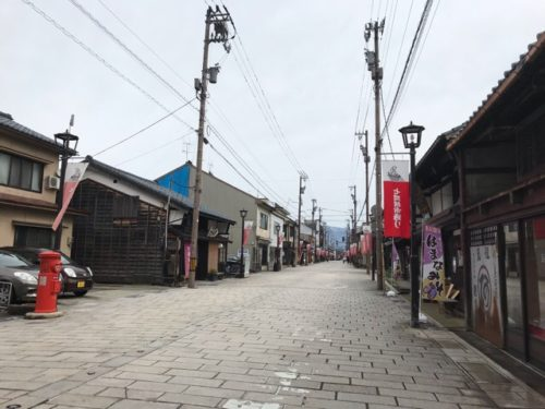 福井県大野市の七間通り
